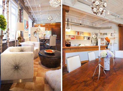 Vanillawoods New Showroom in main interior design  Category