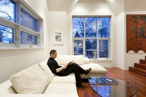 Walmer loft in canada by dubbeldam design architects for Moderni piani a due piani