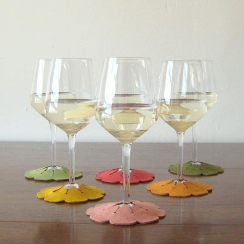 Portable Wine Coasters
