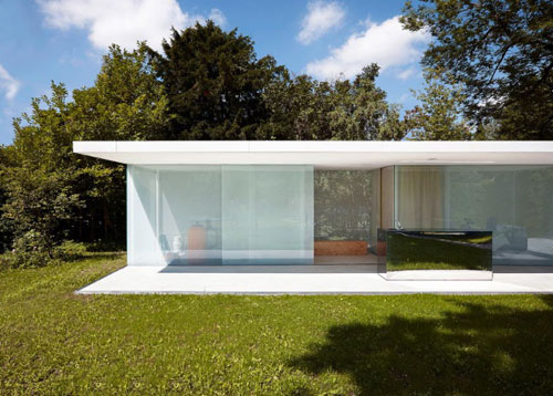Pool House in Germany by Philipp Baumhauer