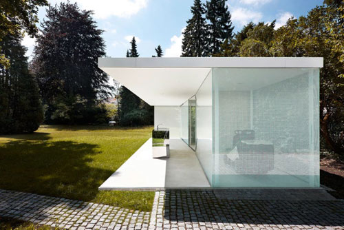 Pool House in Germany by Philipp Baumhauer in main architecture  Category