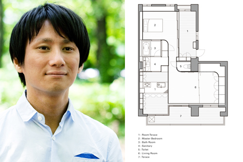 House in Midorigaoka in Japan by Camp Design Inc. in main architecture  Category