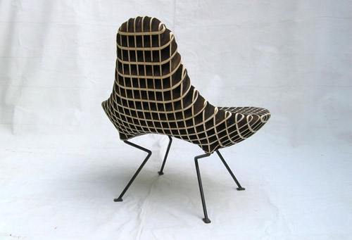 Superior Ryan Dartu0027s Newest Chair, Bantam, Reminds Me Of An Alien. Share ... Nice Ideas