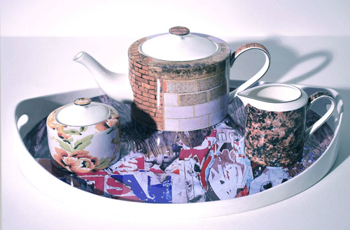 Cuppa Luck Tea Set by Jo Westrop in main home furnishings  Category