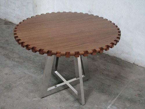 Gear Table by Ryan Matchett