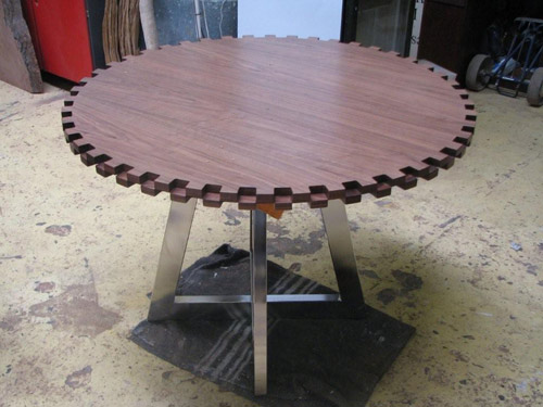 Gear Table by Ryan Matchett in home furnishings  Category