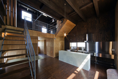 House in Hamadera in Japan by Coo Planning in main architecture  Category