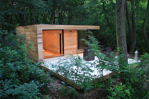 Initstudios39 prefab garden office spaces Furniture Init Studios Garden Office Share Pinterest Init Studios Garden Office Share Batteryuscom