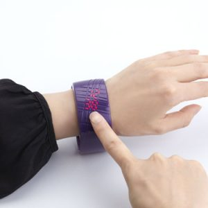 Madokadoke Bracelet LED Watch by Ross McBride