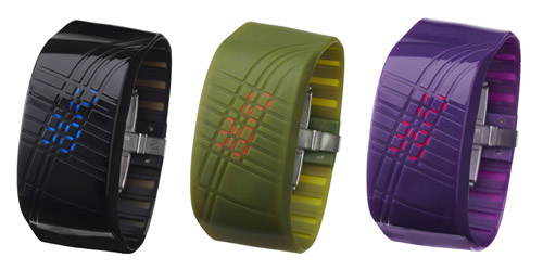 Madokadoke Bracelet LED Watch by Ross McBride in technology style fashion  Category