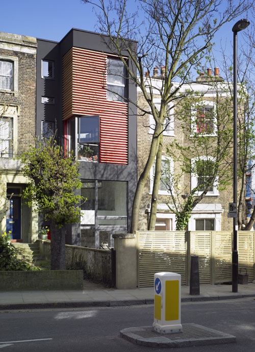 76 Newington Green Road in the UK by Amenity Space in main architecture  Category