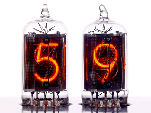 Nixie Tube Clock in technology home furnishings  Category