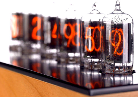 Nixie Tube Clock in technology main home furnishings  Category