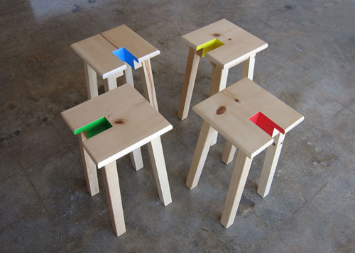 Open Stool by TOUCH