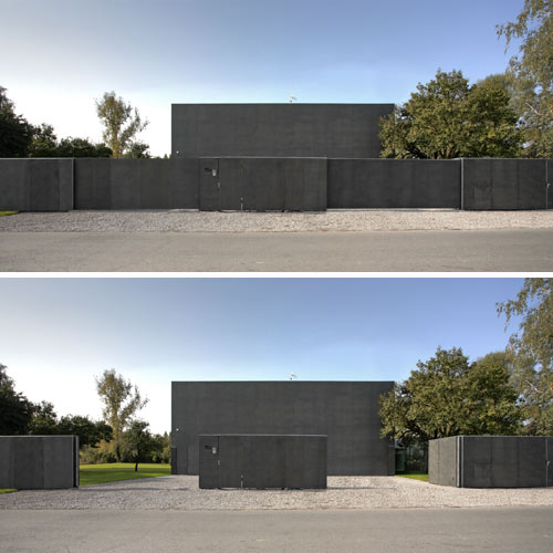 The Safe House in Poland by KWK PROMES
