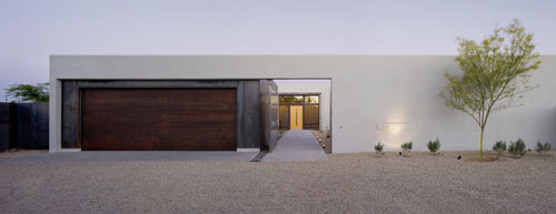 The Six: Courtyard Houses in Arizona by Ibarra Rosano Design Architects in architecture  Category