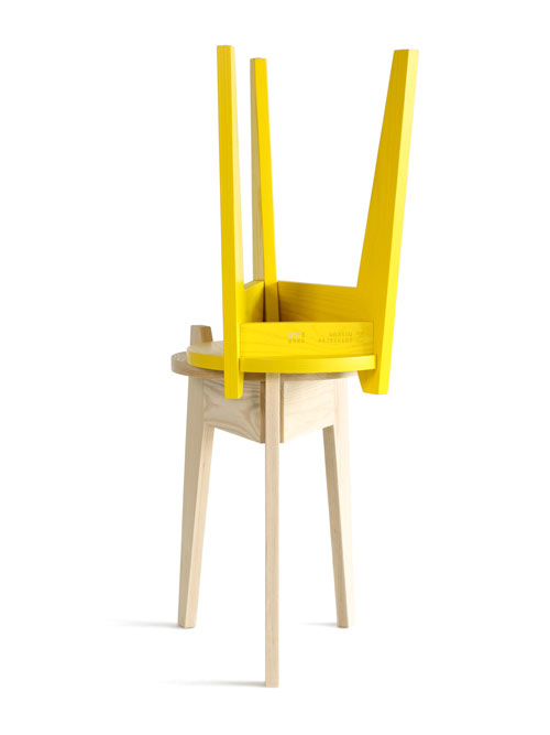 Zuiderzee Stool by Studio Maarten Kolk & Guus Kusters in main home furnishings  Category