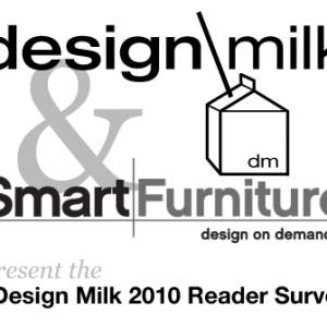 Design Milk 2010 Reader Survey: Win $500 from SmartFurniture