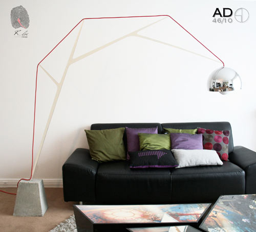 AD46/10 Lamp by Romain Duclos in home furnishings  Category