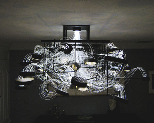 Bacterioptica Chandelier by MADLAB in main home furnishings  Category