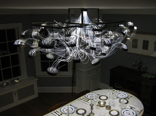 Bacterioptica Chandelier by MADLAB in home furnishings  Category