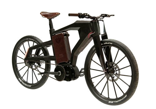 Black Trail: Luxury Electric Bike in technology  Category