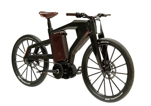 Black Trail: Luxury Electric Bike in technology main  Category