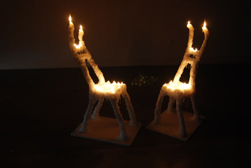 Burning Chairs by Hongtao Zhou in home furnishings art  Category