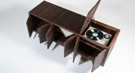 Console Cabinet by Von Tundra