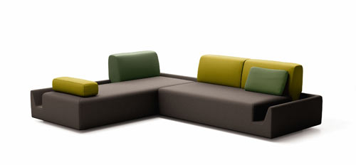 Fossa Sofa by Aurelien Barbry for COR in main home furnishings  Category