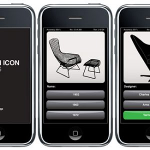Bonus Weekend Post: Design Icon: Chairs iPhone App