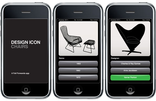 Bonus Weekend Post: Design Icon: Chairs iPhone App in technology  Category