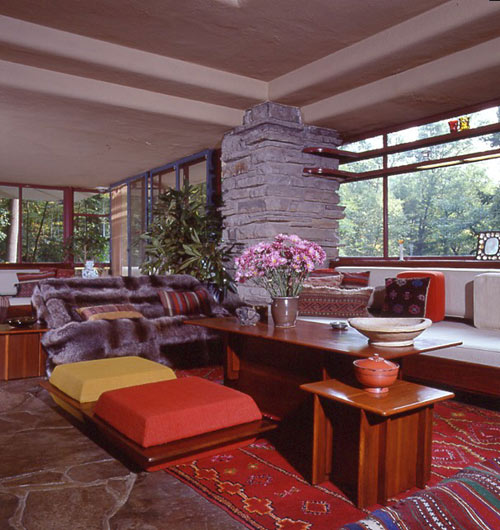PPG Pittsburgh Paint Fallingwater Color Series in main interior design  Category