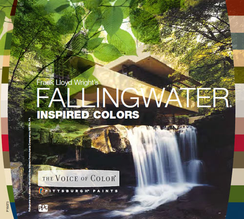 PPG Pittsburgh Paint Fallingwater Color Series