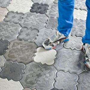 Camelion Floor Tiles by IVANKA