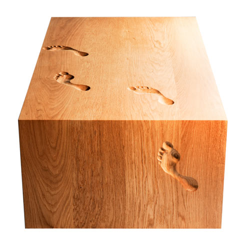 Footprint Table by Nicholas Langan in main  Category