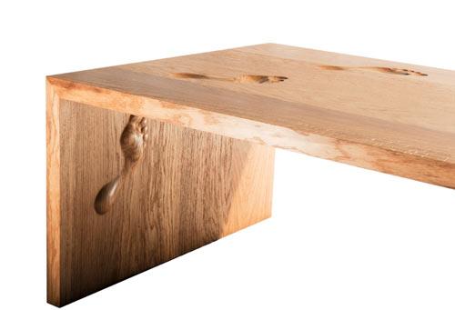 Footprint Table by Nicholas Langan in main  Category