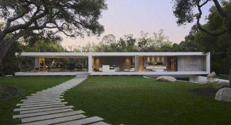 Glass Pavilion in California by Steve Hermann Design