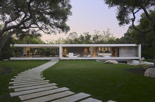 Elegant Glass Pavilion In California By Steve Hermann Design ... Amazing Ideas