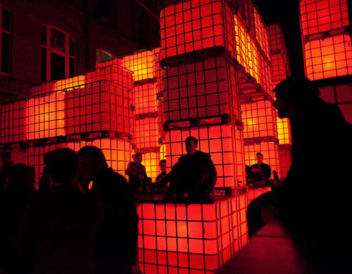 Kubik Installation in Berlin in technology main art architecture  Category