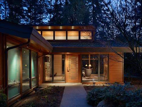 Lake Forest Park Renovation in Washington by Finne Architects