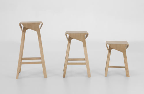 Naoshima Stools by Emiliana Design Studio