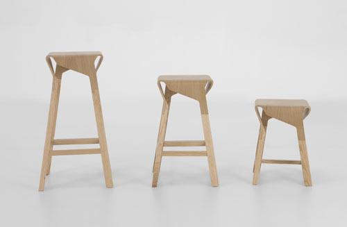 Naoshima Stools by Emiliana Design Studio