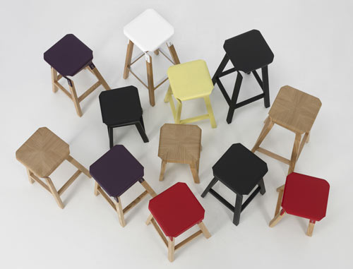 Naoshima Stools by Emiliana Design Studio in main home furnishings  Category