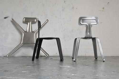 Pressed Chair by Harry Thaler