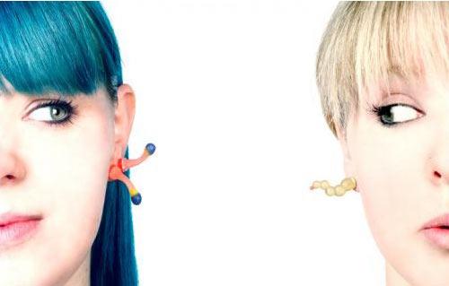 Sea Squirts Earrings by Jenny Llewellyn