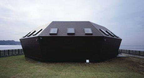 Seashore Shell House in Japan by Takeshi Hirobe Architects