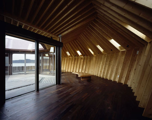 Seashore Shell House in Japan by Takeshi Hirobe Architects in main architecture  Category
