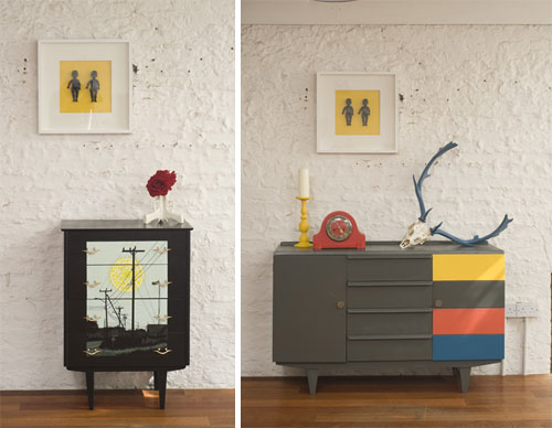 Think Contemporary Upcycled Furnishings in interior design home furnishings  Category
