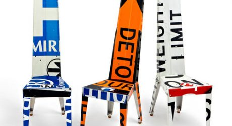 Transit Chairs and Tables by Boris Bally